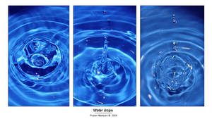 Water drops - exprimental