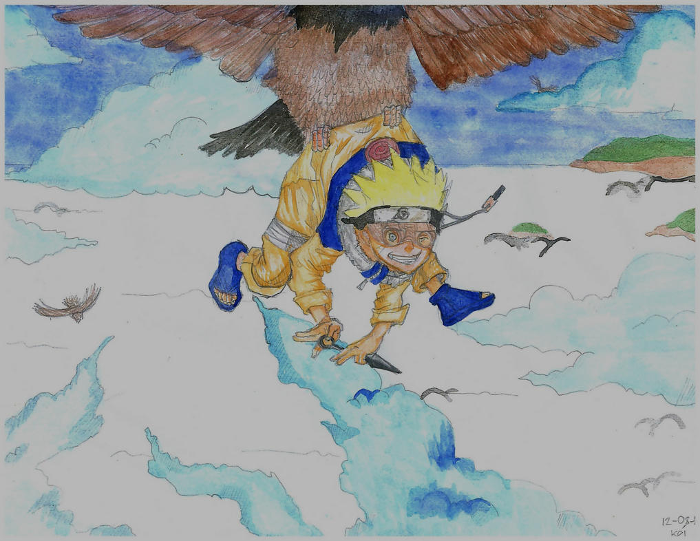 Fly High Naruto by function-kei