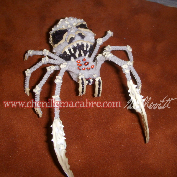 Bone Widow Spider Miniature by the-gil-monster