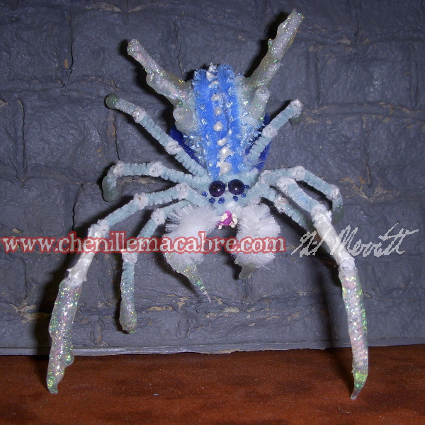 Ice Spider Miniature by the-gil-monster