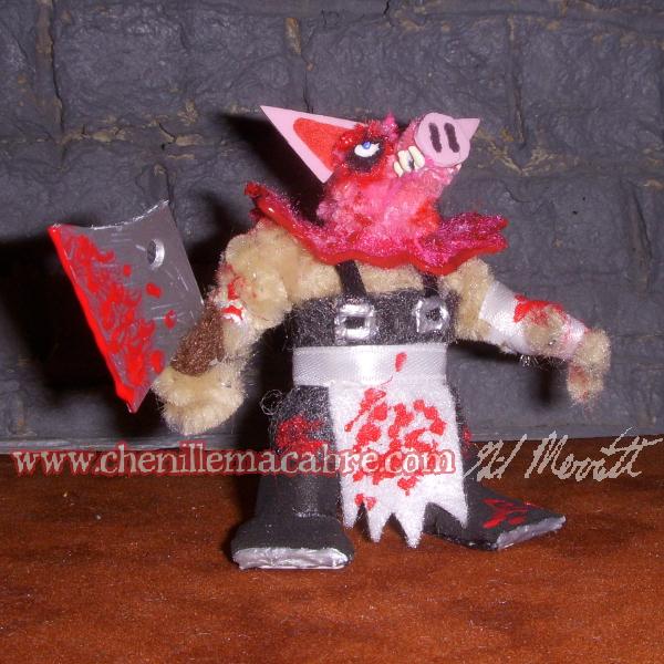 Pigmask Killer Pipe Cleaner Miniature by the-gil-monster on DeviantArt