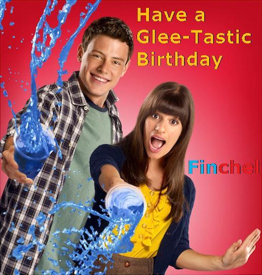 Finchel Birthday Card by Jackthechipmunk on DeviantArt – Glee Birthday Card