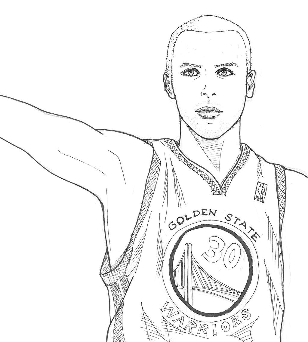 steph curry shoes coloring pages | Stephen Curry by smallwaterfish on DeviantArt