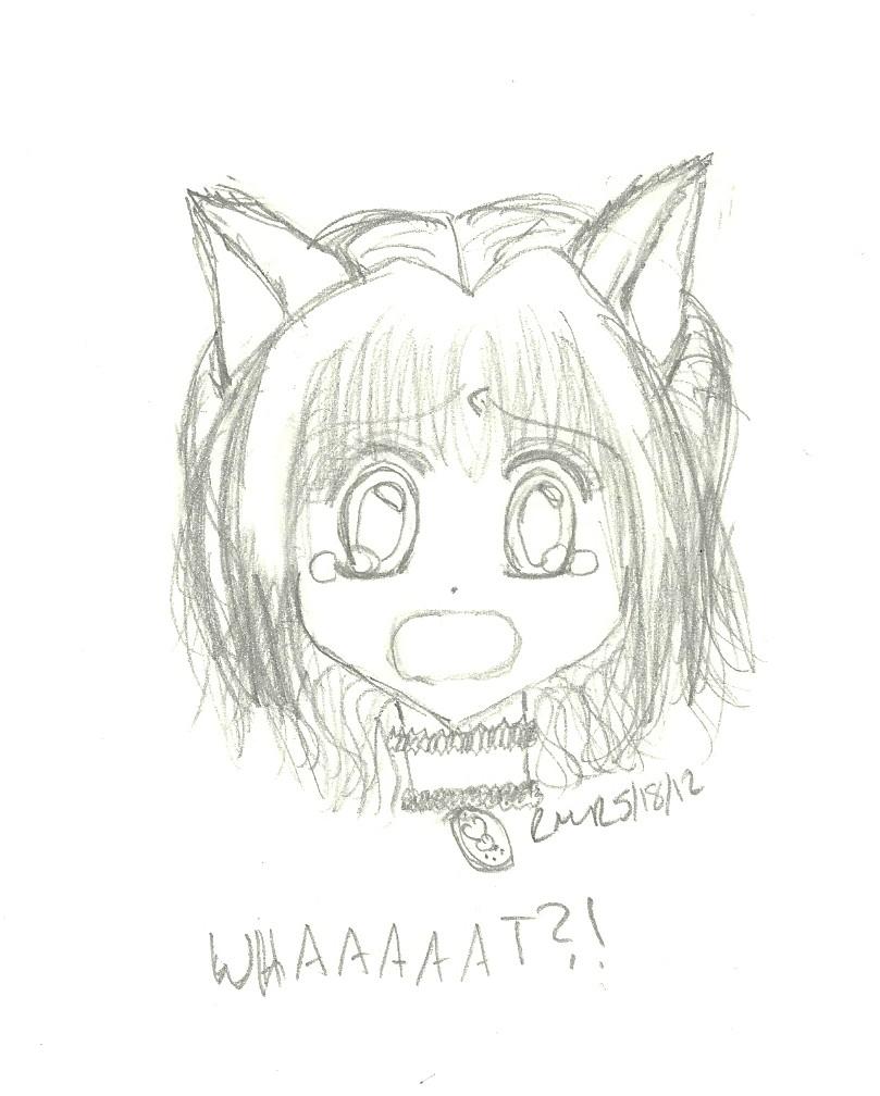 WHAAAAAT?! - Ichigo from Tokyo Mew Mew by ethereal-dancer