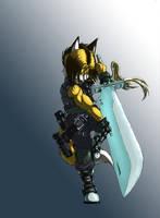 Sword Master Kite by Kite-MCcloud