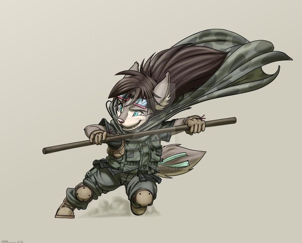 Apprentice Rainu by Kite-MCcloud