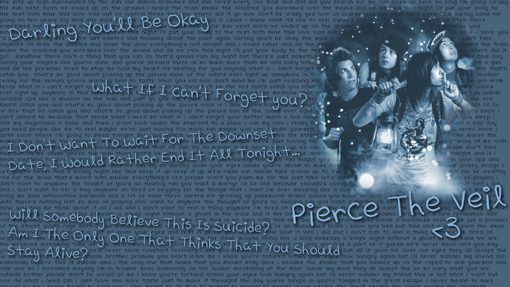 the gallery for gt pierce the veil quotes wallpaper