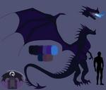 Dragon designs 101 : Nighthorn dragon by StoneFortressDragon