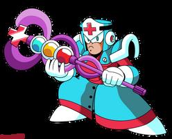 Mega Man Unleashed - PKN-005 Medic Man by AlmKornKid