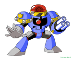 Mega Man Unleashed - Rogue Security Drone