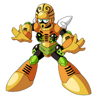 Rock Man's Bizarre Adventure - Golden Man