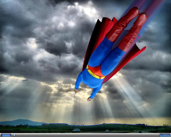 Superman flying by ecomanmovie on deviantart superman flying by ecomanmovie publicscrutiny Gallery