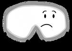 Goggles pose