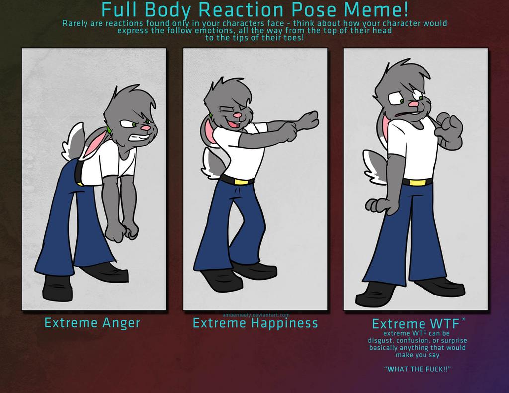 Body Expression Meme by Marukio