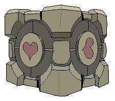 8. Companion Cube - Portal by ConkerTSquirrel