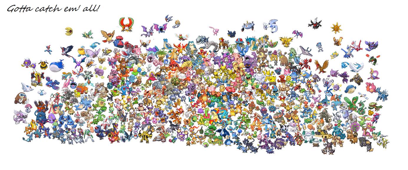 Pokemon sprite wallpaper by