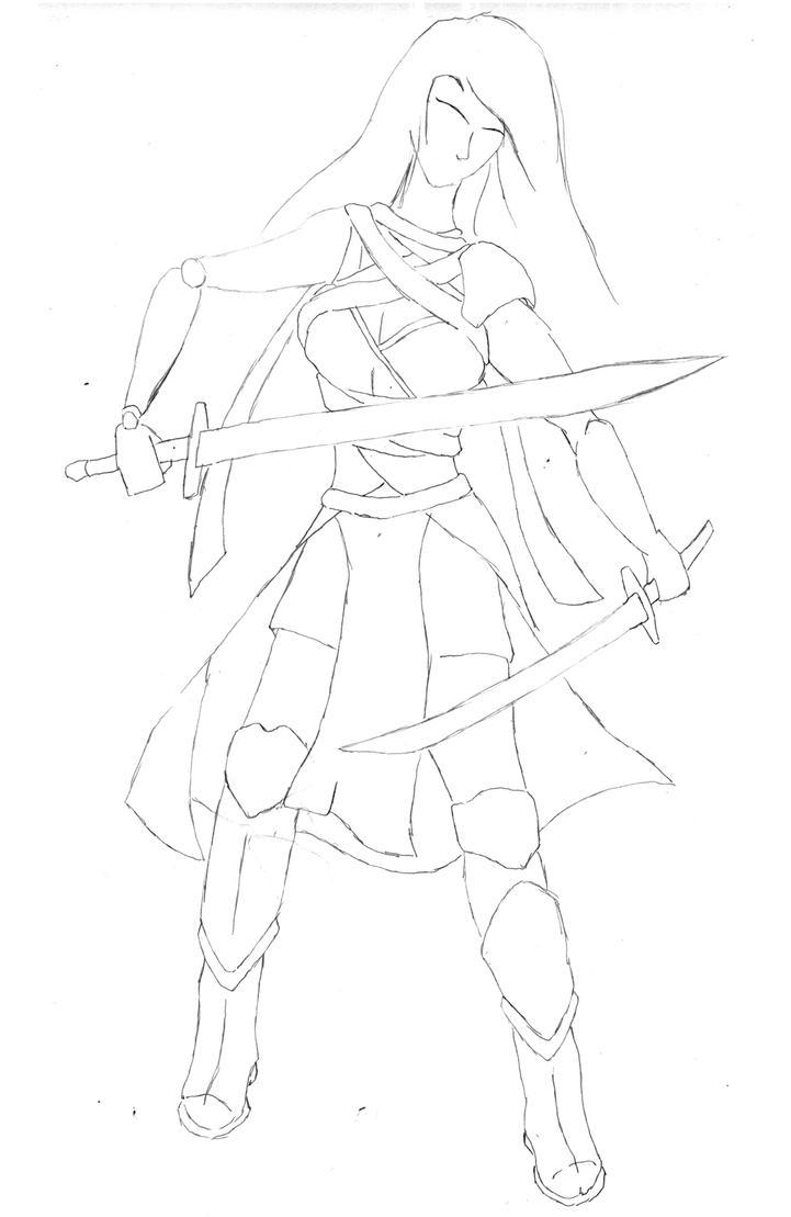 Blade Dancer by PyrZern