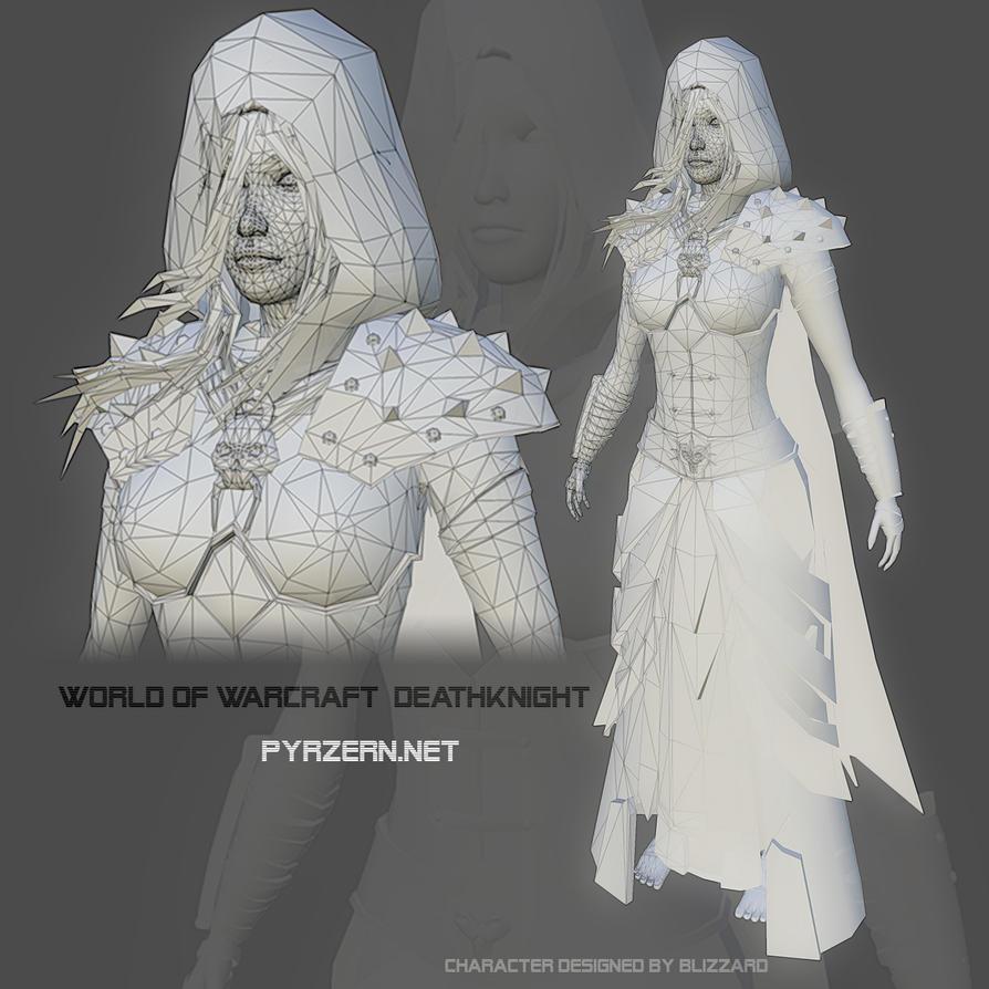 Female Deathknight by PyrZern