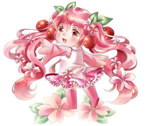 Chibi Sakura Miku