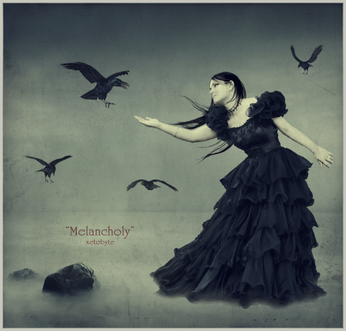 melancholy by xetobyte