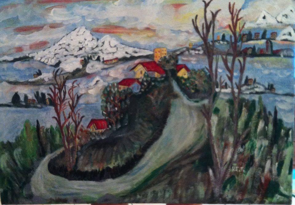 paesaggio di montagna by RenatoTocco