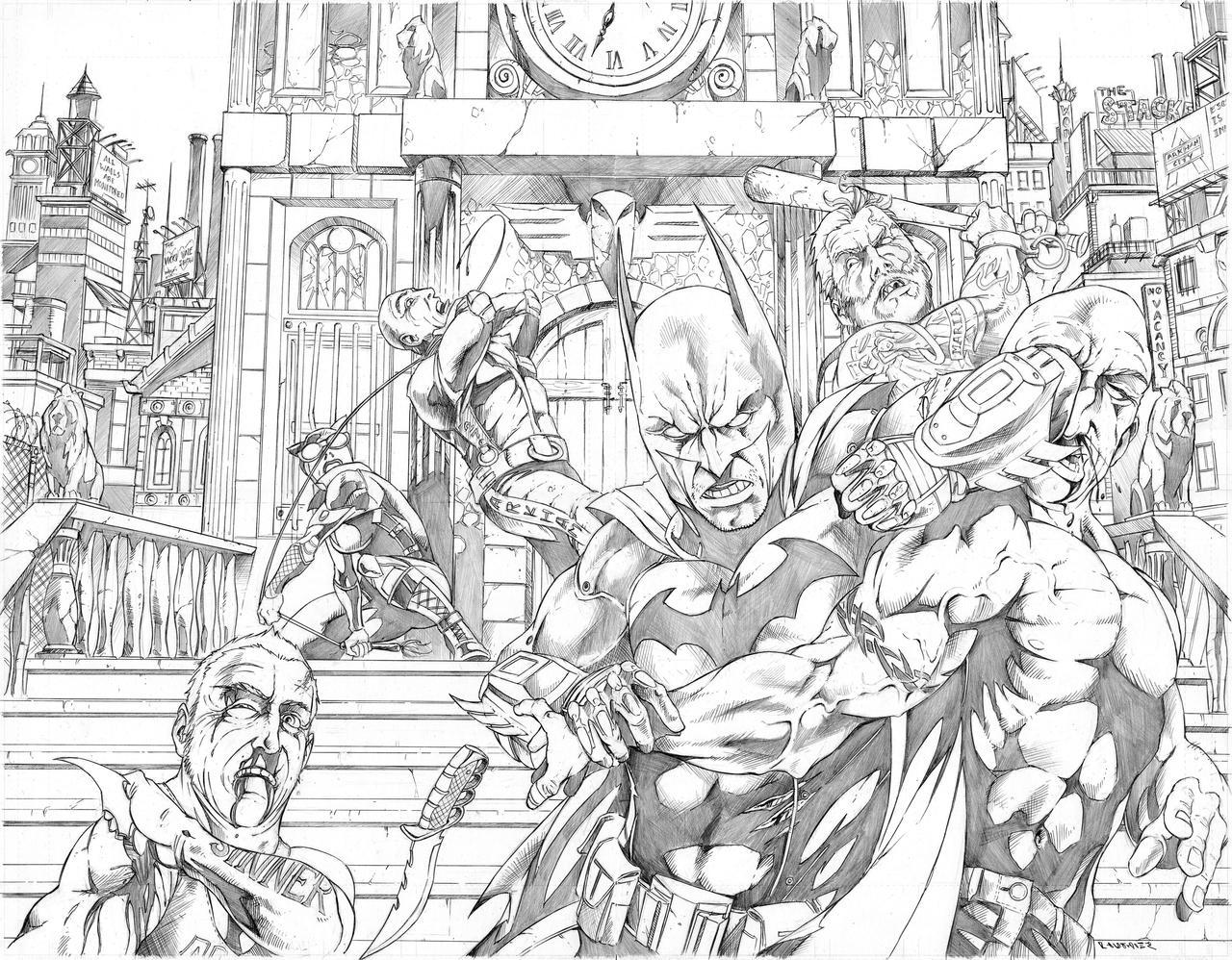 Arkham City Smackdown by Merrk