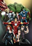 Avengers by Merrk