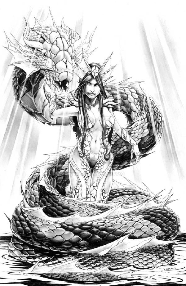 Snake Charmer by Merrk
