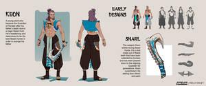 Ryndair: Keon Character Sheet