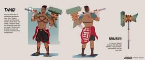 Ryndair: Tangi Character Sheet