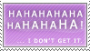 Haha stamp by minas-stamps