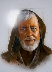 Obi Wan Kenobi portrait by Admiral-Mick