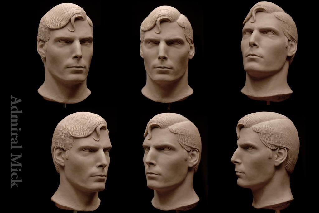 Les travaux de Admiral Mick (superman reeve 1/4) Reeve_as_superman_1_4_scaled_head_sculpt_by_admiral_mick-d8hbr91