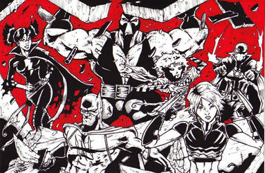 Secret Six by Rottinggiant