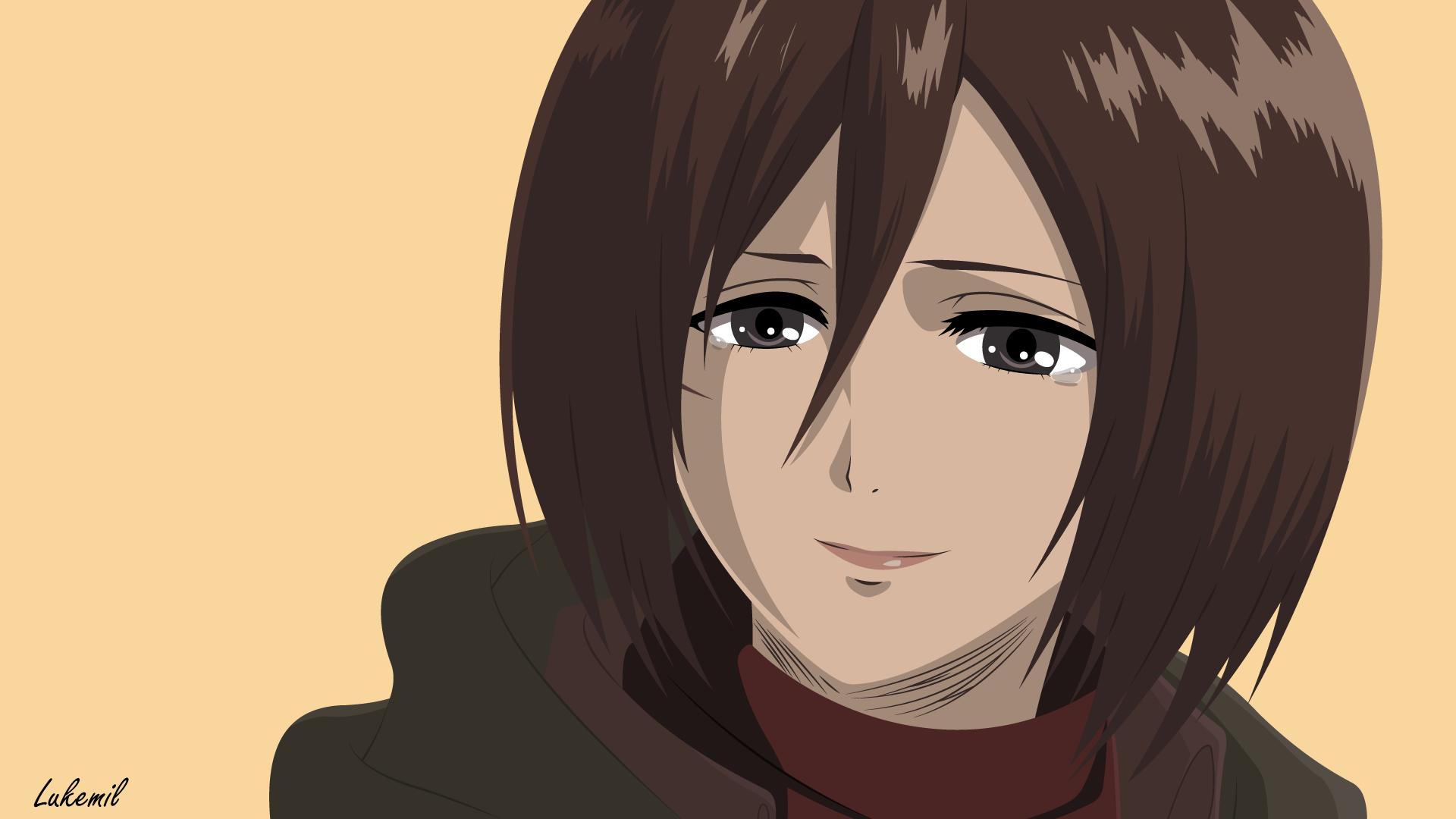Mikasa Ackerman Shingeki No Kyojin Wallpaper By Lukemil On Deviantart