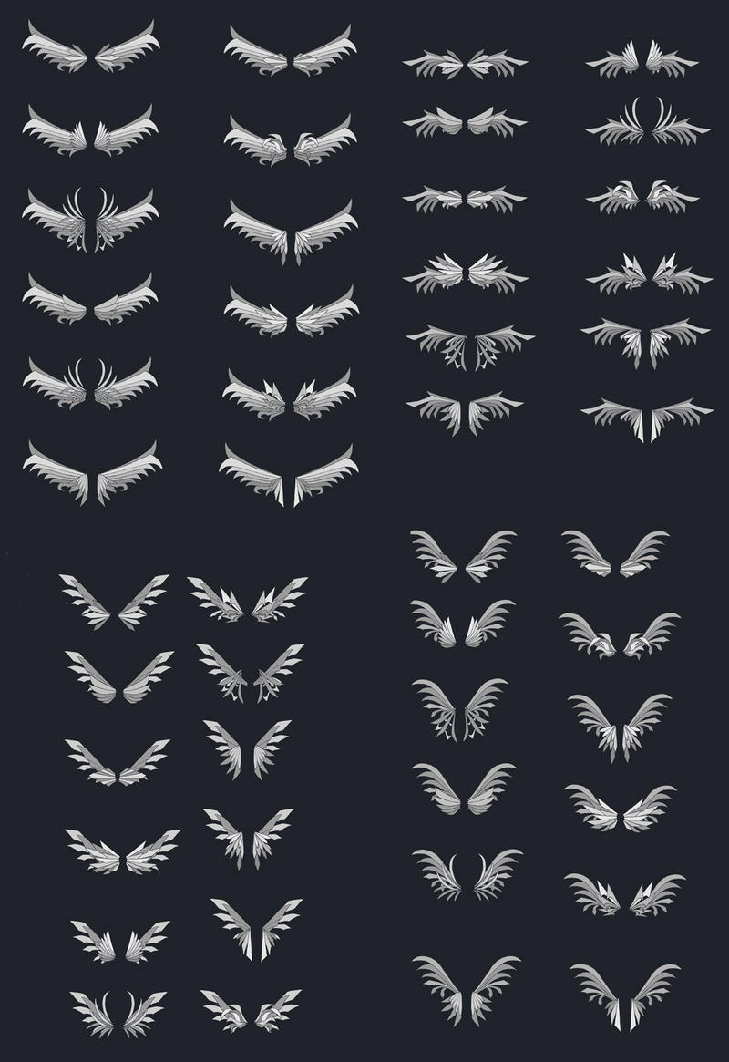 Wing Designs 2 by dashase