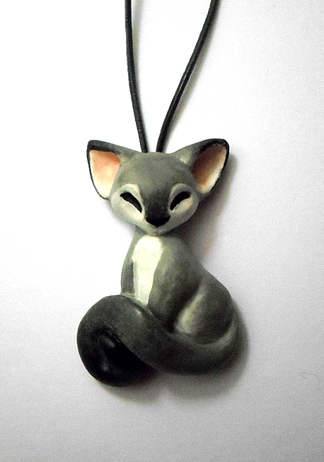 Cat Necklace by dashase