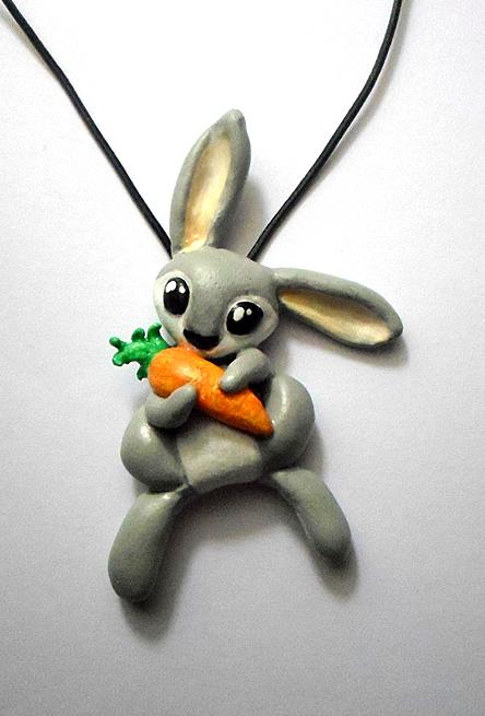 Rabbit Necklace by dashase