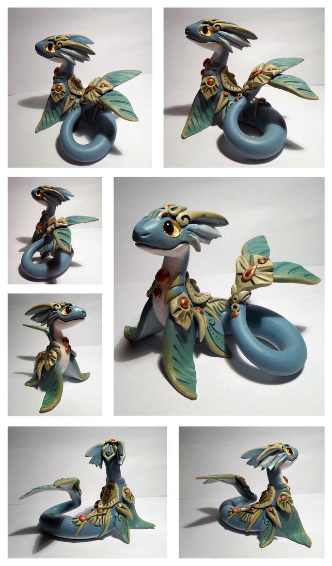 blue waterdragon by dashase on deviantart