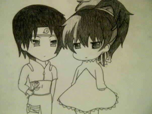 Sai and Yin by AnimeChibiest