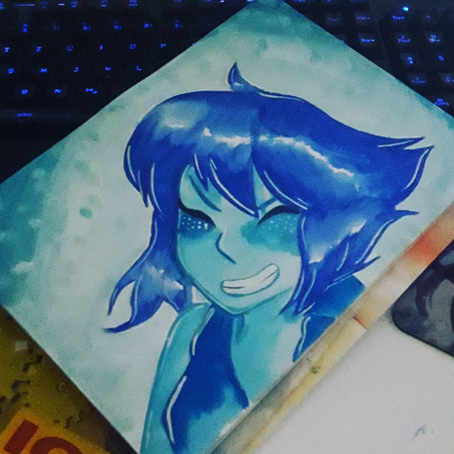 Fanart of lapis from Steven Universe