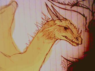dragon-gold by Yanae