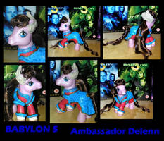 Babylon 5 - Ambassador Delenn by PrincessAmalthea
