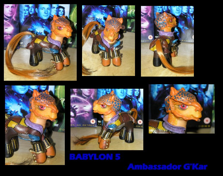 Babylon 5 - Ambassador G'Kar by PrincessAmalthea