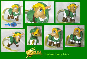 Legend of Zelda - Link Pony by PrincessAmalthea