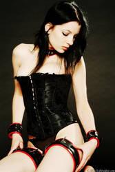 Colour corset portrait by PrincessAmalthea