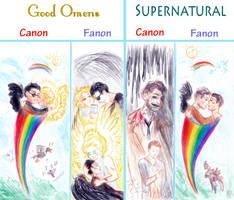 Good Omens and Supernatural: A Brief Comparison by Kaytara