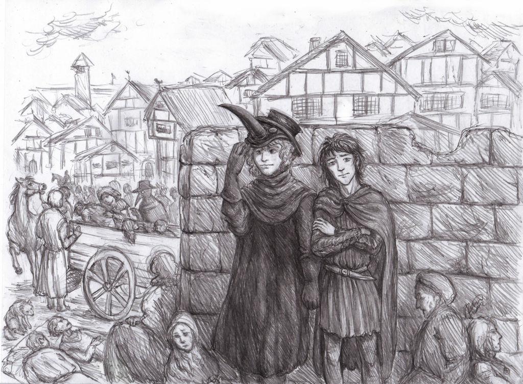 Good Omens: The Fourteenth Century by Kaytara on DeviantArt
