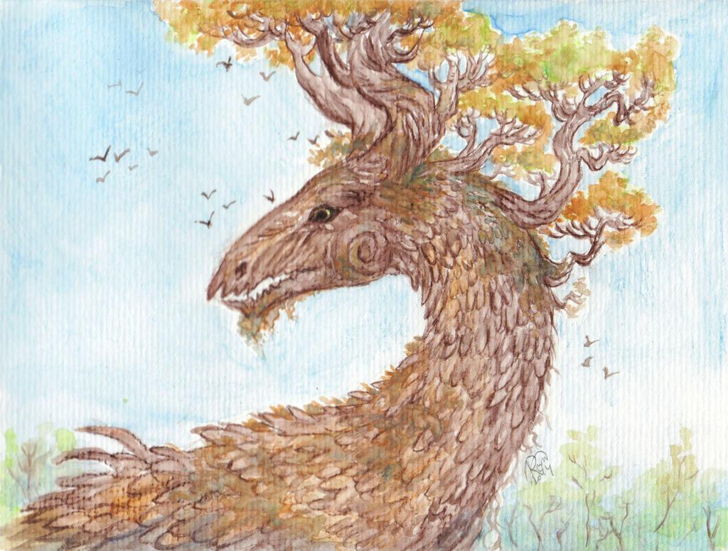 Autumn Dragon by Kaytara