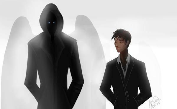 Crowley and Death by Kaytara
